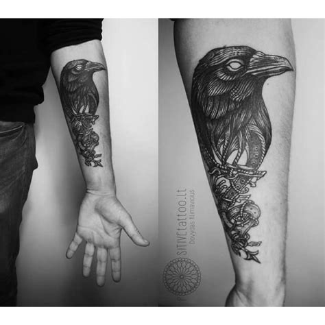 the crow tattoo designs belt best ideas gallery
