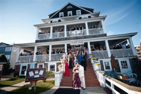 wedding cape may new jersey cape may weddings front wedding nj new jersey wedding hotel hotel macomber