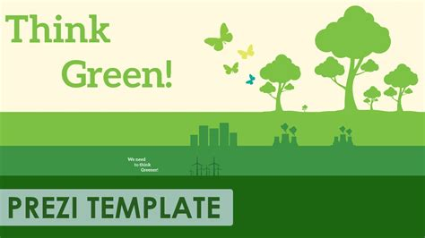 think green prezi template youtube