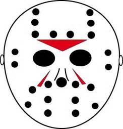 goalie mask template clipart best