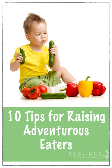 9 Tips On Raising by 10 Tips For Raising Adventurous Eaters 2 001 684x1024 Png