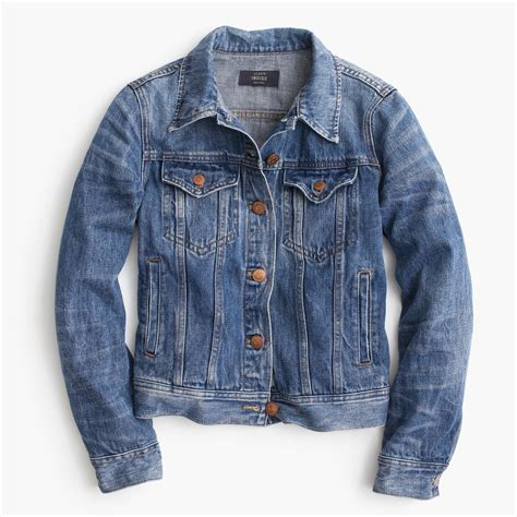 Jaket Jean by Denim Jacket In Wash S Coats Jackets J Crew