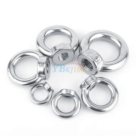 Ring Per M10 Stainless Berkualitas m6 m8 m10 m12 m14 m16 304 stainless steel lifting eye nut ring shape nuts highq ebay