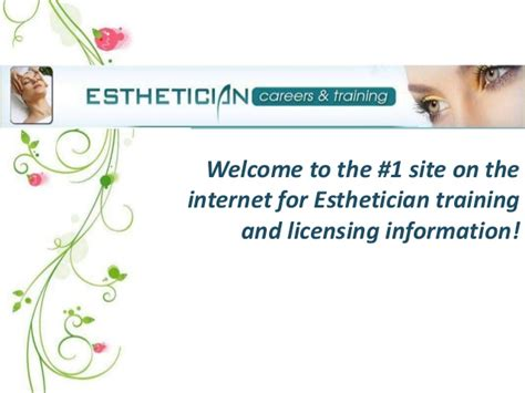 esthetician license information by state