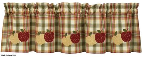 Apple Kitchen Curtains   Everything Log Homes