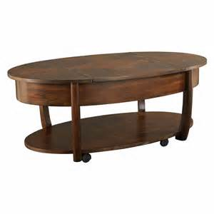 Oval Lift Top Coffee Table Hammary Concierge Oval Lift Top Coffee Table Coffee