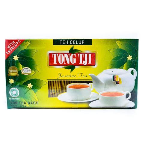 Teh Tong Tji Premium tong tji teh celup melati tea 100 ct 2 gr 200 gram
