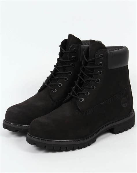 timberland icon 6 inch premium boots black nubuck s