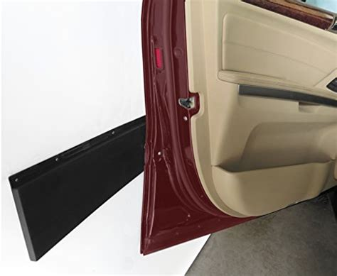 Evelots Black Vehicle Door Protector Garage Wall Garage Door Bumper Guard