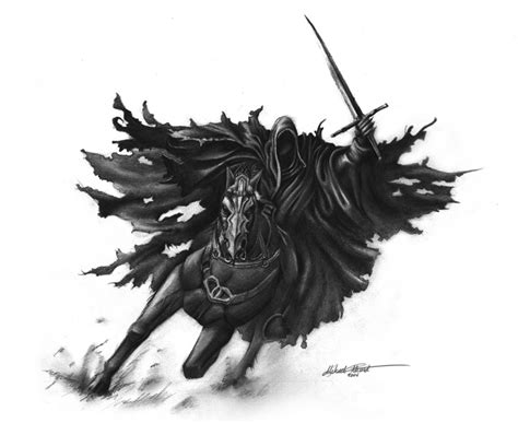 nazgul drawing by regius on deviantart