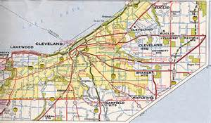 cleveland map cleveland maps