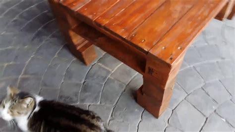 como hacer mesa de centro  madera de palets youtube