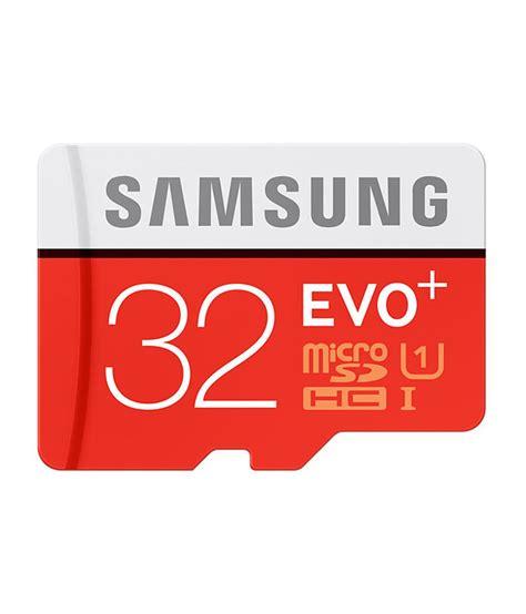 Memory Card Samsung Evo 32gb Samsung Evo Plus Class 10 Uhs 1 32gb Microsdhc 95mb S Memory Card With Sd Adapter Memory Cards