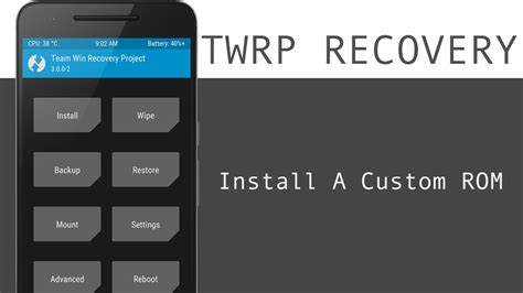 twrp 101 how to install a custom rom android gadget hacks how to install custom roms on android using twrp recovery