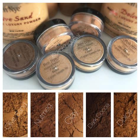 Ben Nye Mojave Collection Luxury Powder Olive Sand ben nye mojave luxury powder 1pc sle 10gr dolce olive