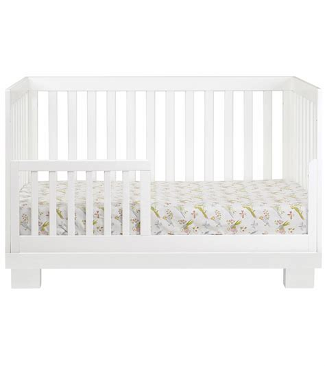 Babyletto Modo 3 In 1 Convertible Crib With Toddler Rail Babyletto Modo 3 In 1 Convertible Crib With Toddler Bed Conversion Kit In White Finish