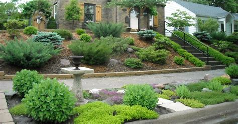 landscaping ideas for hills landscaping landscaping ideas for front yard on hill