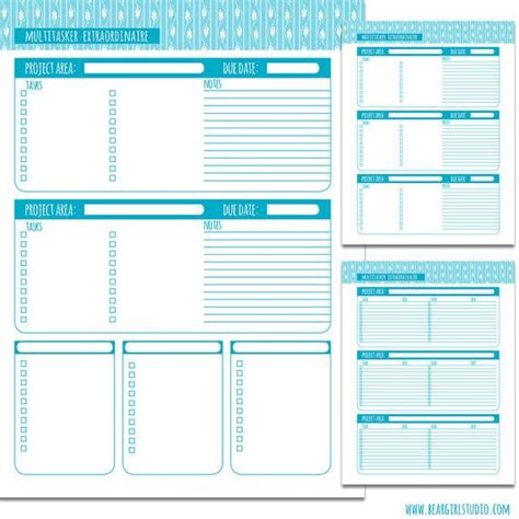 sweet life printable planner serenity edition 27 best images about projektplanering project planning on