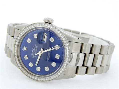 rolex mens stainless steel datejust  sale sku mt