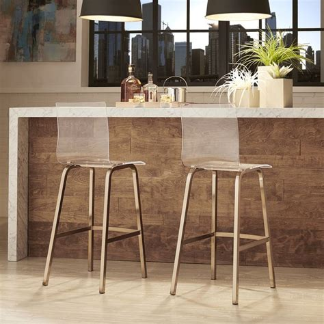 Clear Acrylic Swivel Bar Stools by 25 Best Ideas About Acrylic Bar Stools On