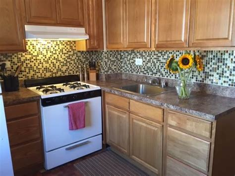 diy temporary backsplash house updated temporary kitchen backsplash diy temporary kitchen