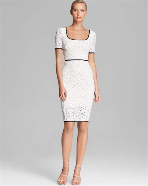square dress abs by allen schwartz dress square neck sleeve lace