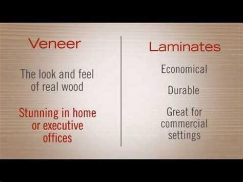 veneer vs laminate furniture youtube