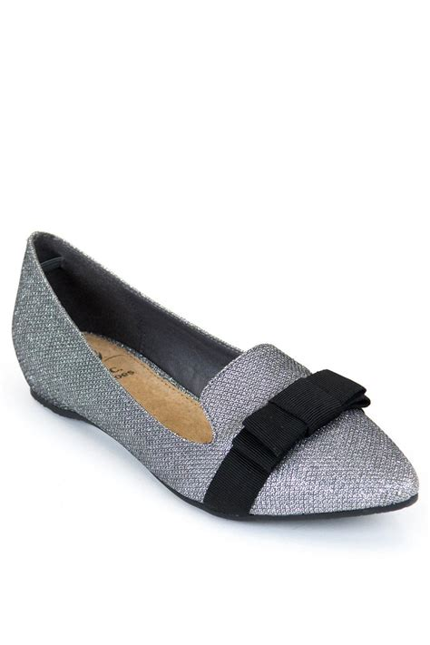 Gc Silver gc shoes silver regal flat from new york city by via