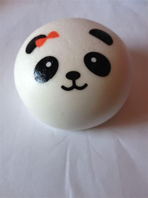 Panda Bun jumbo panda bun squishy with bow 183 tiki tembo 183 store powered by storenvy