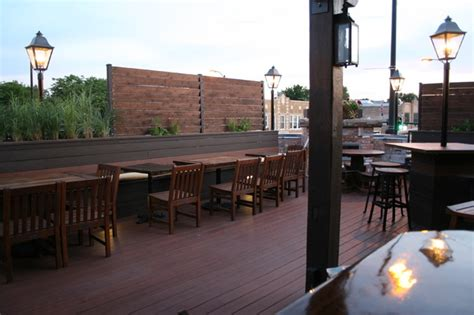 top deck restaurant ravenswood restaurant rooftop dining area traditional
