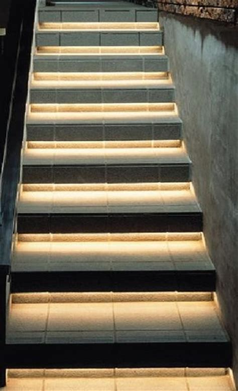 led strip lights for stairs inspired led accent lighting staircase lighting