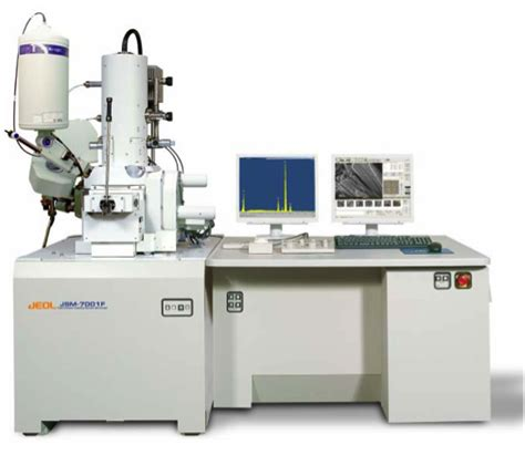 jeol jsm 7001f scanning electron microscope