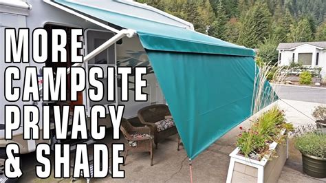 tough top awnings improve csite privacy shade privacy panels from