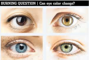 possible eye colors changing eye color naturally is it possible only knew