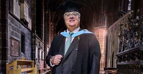 Chester Business School Mba by Veteran Chester Hotelier Jonathan Slater Receives Honorary