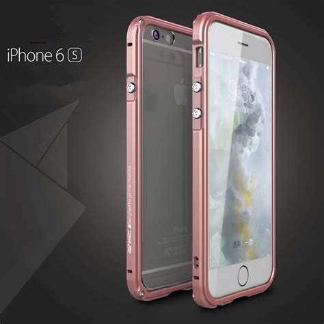 Bumper Metal Alumunium Iphone 6 luphie aluminum metal bumper frame shockproof cover for iphone 6 6s 7 plus ebay