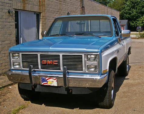 silverado gmc 4x4 gmc k1500 1986 like chevrolet chevy silverado