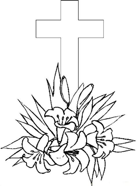 printable coloring pages crosses free printable cross coloring pages for kids