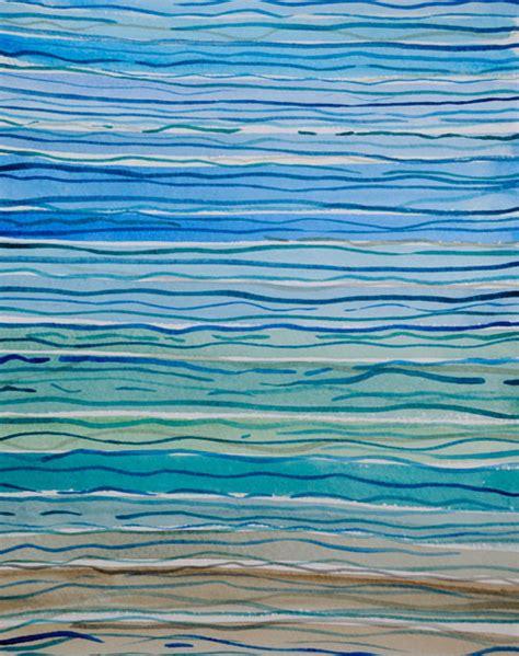 Diy Home Decor Project Ideas An Abstract Sea Arty Farty Friday 23