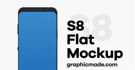 Samsung S8 Flat 10 high quality samsung galaxy s8 mockups for free graphberry