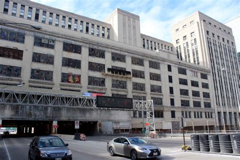 Post Office Chicago by Post Office Developers Sought By City Downtown