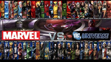 film marvel e dc marvel vs dc wallpapers wallpaper cave