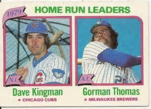 1979 national league american league home run leaders 202