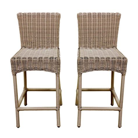 indoor outdoor wicker furniture indoor outdoor wicker bar stools