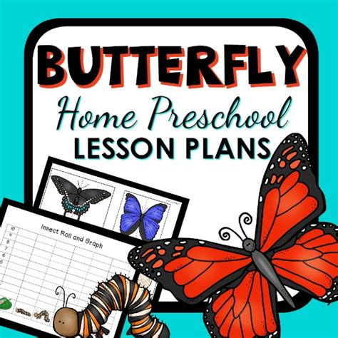 butterfly theme home preschool lesson plans home