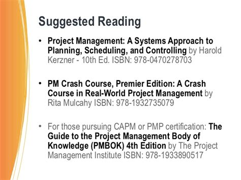 pursuing the pmp and capm the if the what and the how books project management how the mba can help you succeed