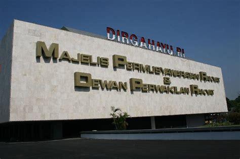 Ketetapan Ketetapan Majelis Permusyawaratan Rakyat Republik Indonesia nama nama ketua mpr ri dari tahun ke tahun just irwansyah