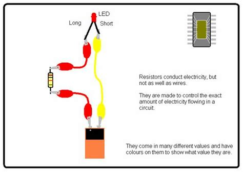what is a resistor used for in led simple circuits ceeo makerspace