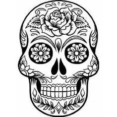 sugar skull clip art interesting cliparts