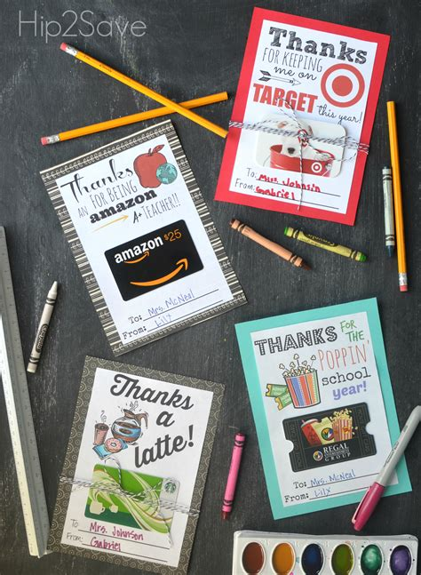 Use Target Gift Card On Amazon - free printable gift card holders for teacher gifts hip2save
